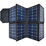 130W Portable Collapsible Solar Panel Charger SUNGZU...