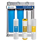 Express Water Heavy Metal Whole House Water Filter - 3 Stage...