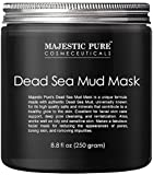 Majestic Pure Dead Sea Mud Mask for Face and Body - Gentle Facial Mask and Pore Minimizer...
