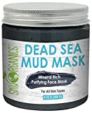 Sky Organics Mineral Rich Purifying Dead Sea Face Mud Mask...