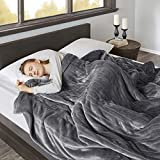 Beautyrest Heated Microlight to Berber Elect Electric Blanket with Two 20 Heat Level...