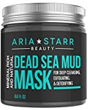 Aria Starr Dead Sea Mud Mask For Face, Acne, Oily Skin &...