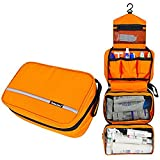 Relavel Cosmetic Pouch Toiletry Bags Travel Business Handbag Waterproof Compact Hanging...