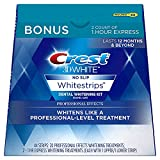 Crest 3D White Professional Effects Whitestrips Whitening Strips Kit, 22 Treatments, 20...