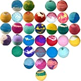 10 Large Bath Bombs USA Made Gift Set - Bath Fizzies -Over...