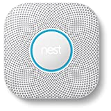 Nest S3000BWES Nest Protect 2nd Gen Smoke + Carbon Monoxide Alarm, Battery (Wired)