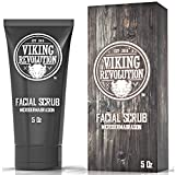 Viking Revolution Microdermabrasion Face Scrub for Men - Facial Cleanser to Exfoliate...