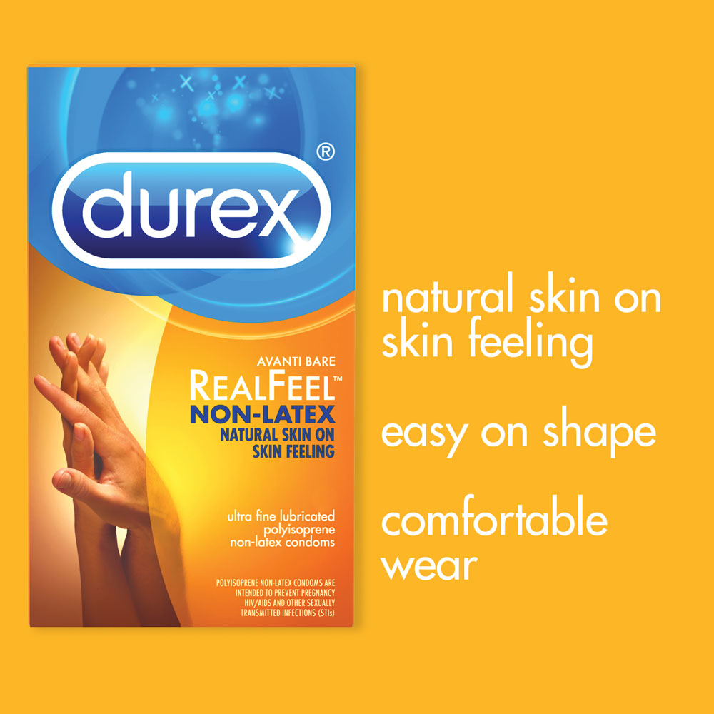 Durex Avanti Bare Real Feel Non- Latex Condom
