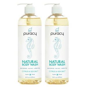 Puracy Body Wash, Citrus & Sea Salt